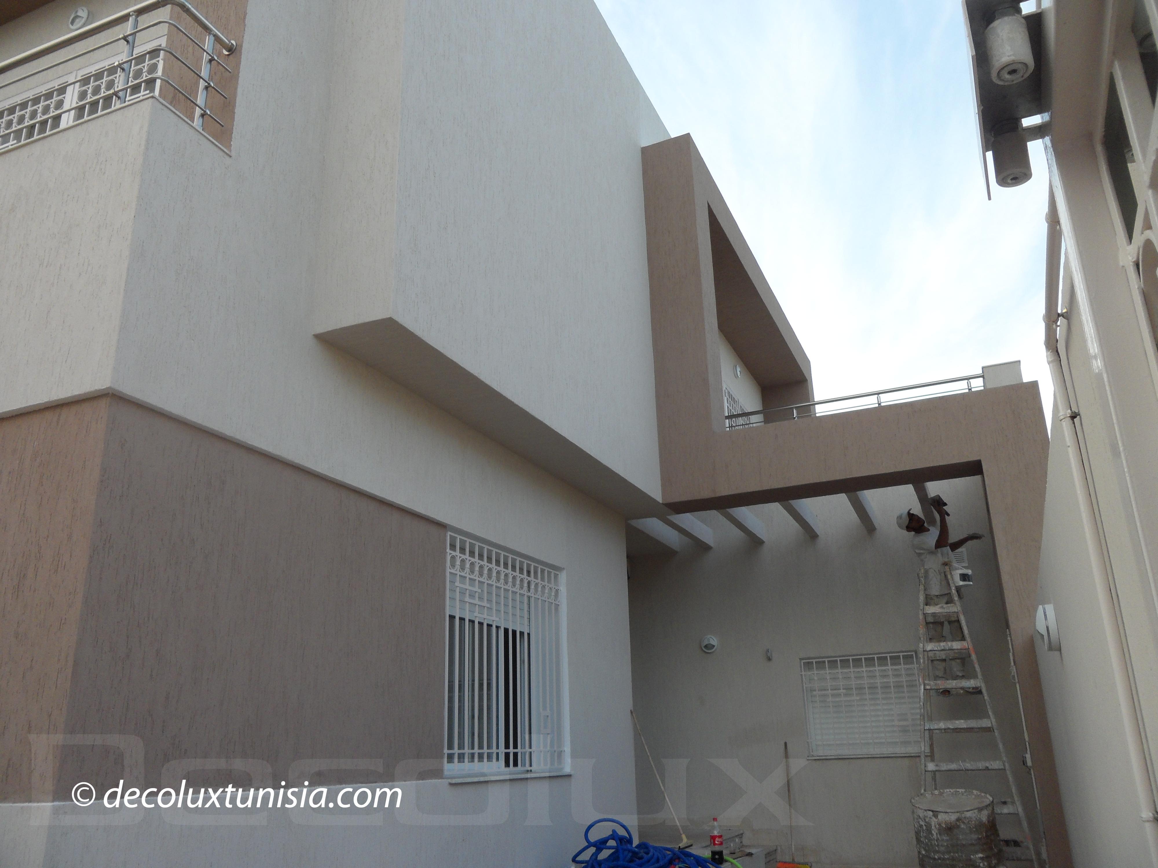 Decolux travaux de peintures for Formation decoration interieur tunisie